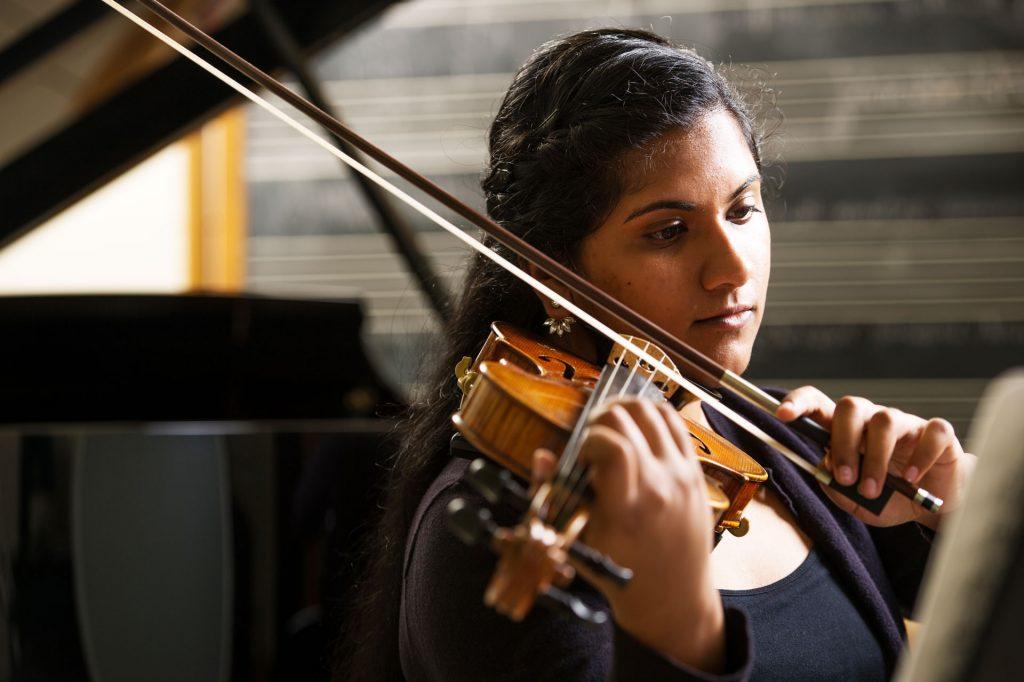 Student Murali Violin